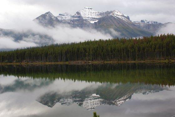 Herbert Lake_Icefields Parkway