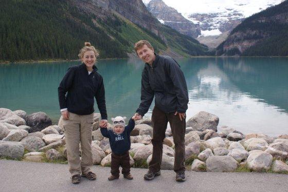 lake louise family shot