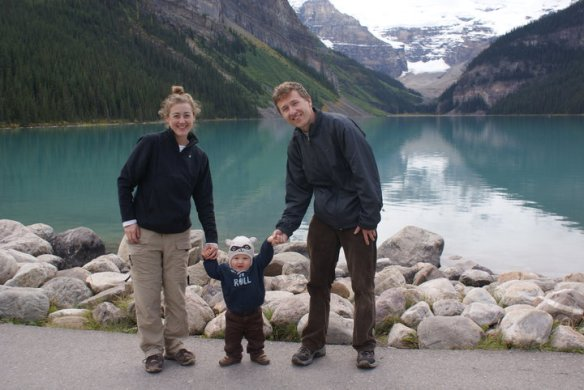 lake louise family shot