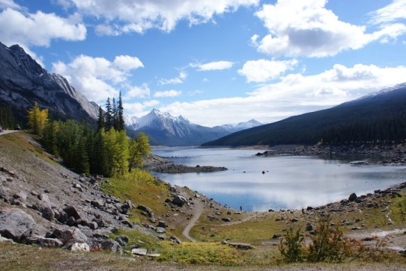 maligne road overlook