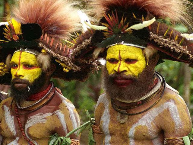 Huli Tribe, Papua New Guinea