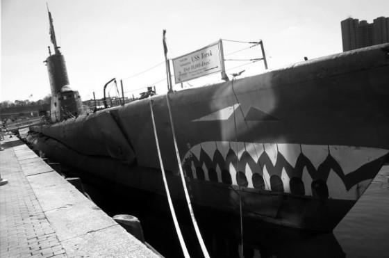 USS Torsk BW
