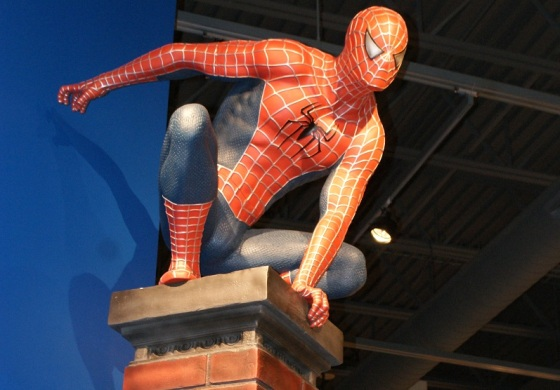 Strong Museum Spiderman
