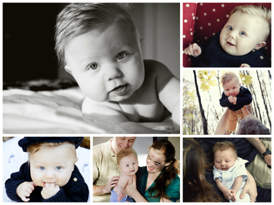 Finnegan Baby Collage